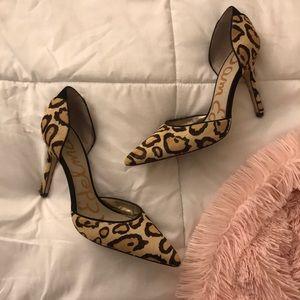 Sam Edelman Leopard Heels